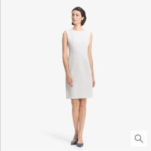 Giovanna Dress - ponte twill Gray size 2